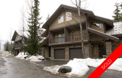 Blackcomb Benchlands Townhome for sale: Snowy Creek 4.5 bedroom 2,150 sq.ft. (Listed 2010-01-13)